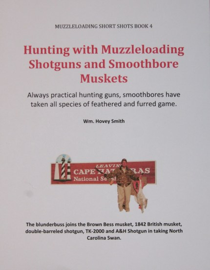 Hunting with Muzzleloading Smoothbores Cover