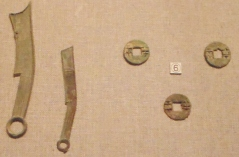 Knife money and cash coin Waring States Period Henan State Museum