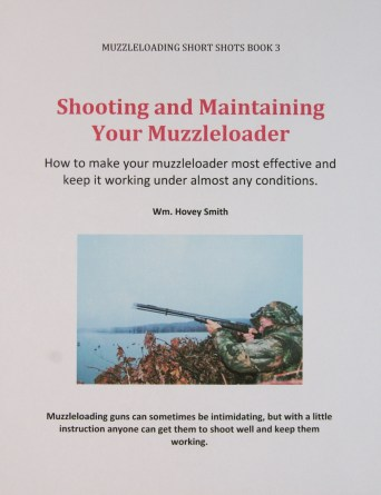 Shooting and Maintaining your Muzzleloader Cover